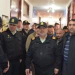 سفر سردار فرماندهی انتظامی استان آذربایجان غربی به سلماس - آذرماه 94  9